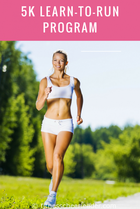 LEARN TO RUN WITH THIS 8 WEEK 5K LEARN-TO-RUN PROGRAM