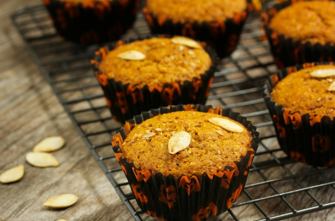 Pumpkin Trail Mix Muffins - Overwhelmed with requests to make a pumpkin recipe!So here you go….'tis the season for everything pumpkin. #recipe