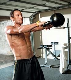Heart Healthy Kettlebell HIIT Workout