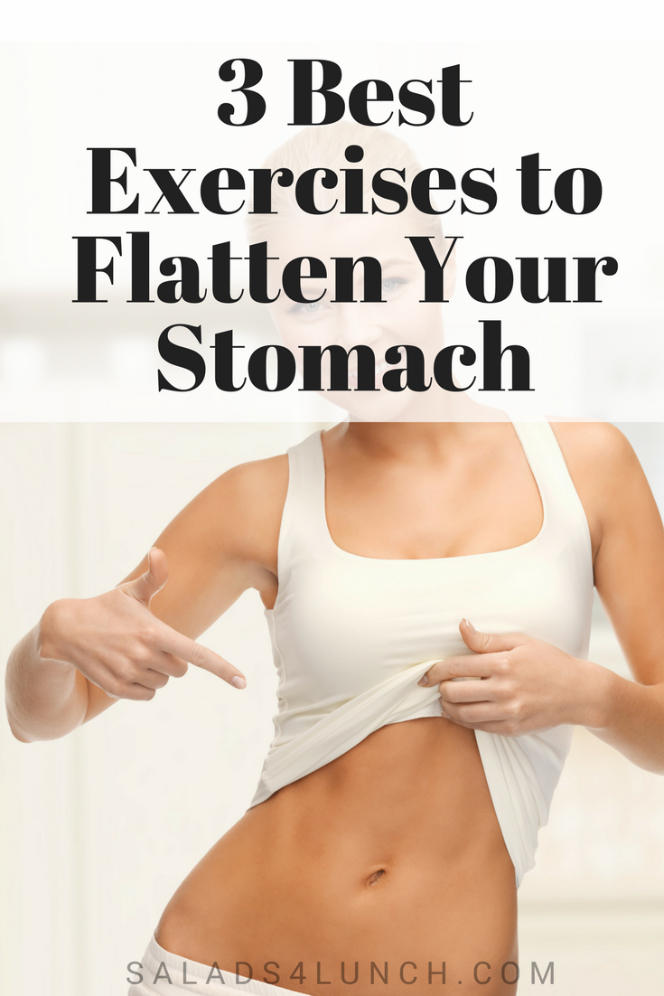 3 Best Exercises to Flatten Your Stomach #weightloss #flatstomach #sixpackabs