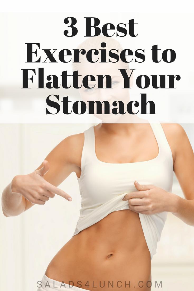 3 Best Exercises to Flatten Your Stomach #weightloss #flatstomach #sixpackabs