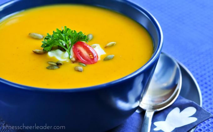 This is the BEST Butternut Squash Soup Recipe I have EVER tasted, I literally licked my bowl clean. Great recipe to save for later!!