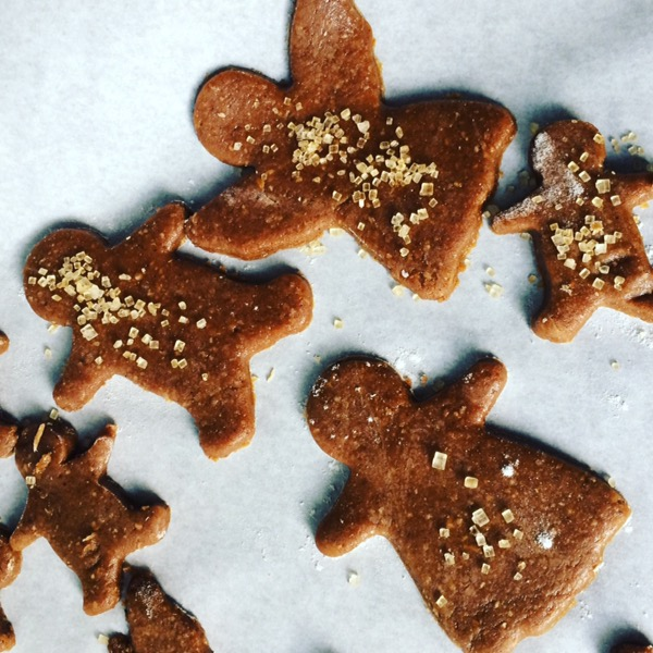 Here's a great recipe for Healthier Soft Baked Gingerbread Cookies
