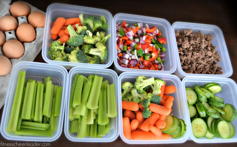 Healthy eating tip: Prep food for the week and store them in @snapwarestorage containers. You can use dry erase markers to put the date on them and they're so easy to open that even a four year old can do it!