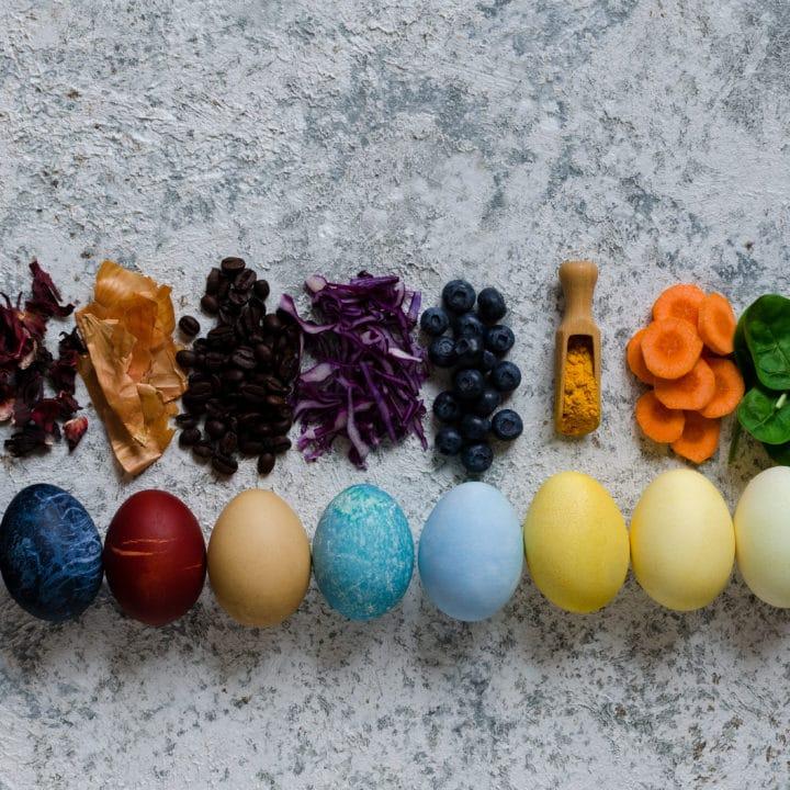 DIY Natural Easter Eggs