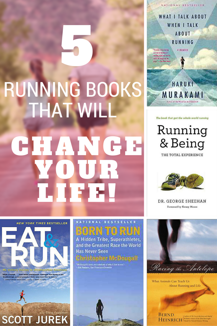 5 running books that will change your life - adding all of these to my kindle!