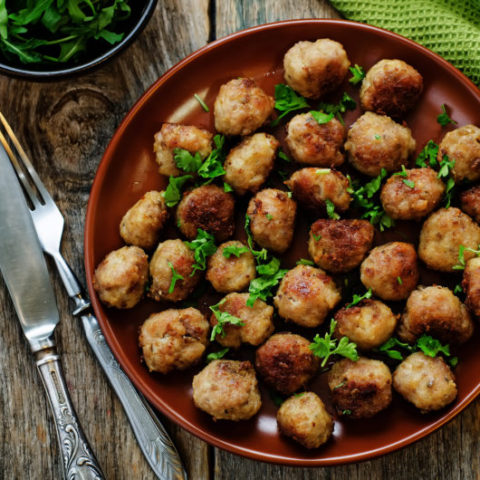 Low Carb Keto Turkey Meatballs