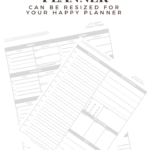 Do you want to be healthy? Drink more water? Exercise regularly? and eat healthy? But like me, do you get derailed from your fitness goals easily because you really like breakfast tacos and soda? If so, I have something for you afree printable meal and fitness planner! #fitnessplanner #happyplanner #printableplanningpages #happyplannerprintable #weightloss