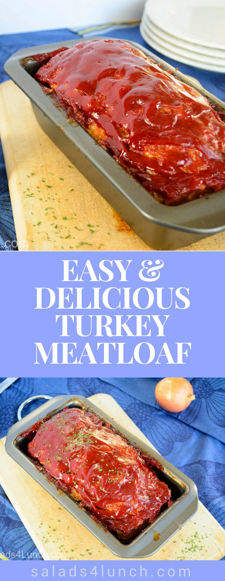 Turkey Meatloaf image for Pinterest