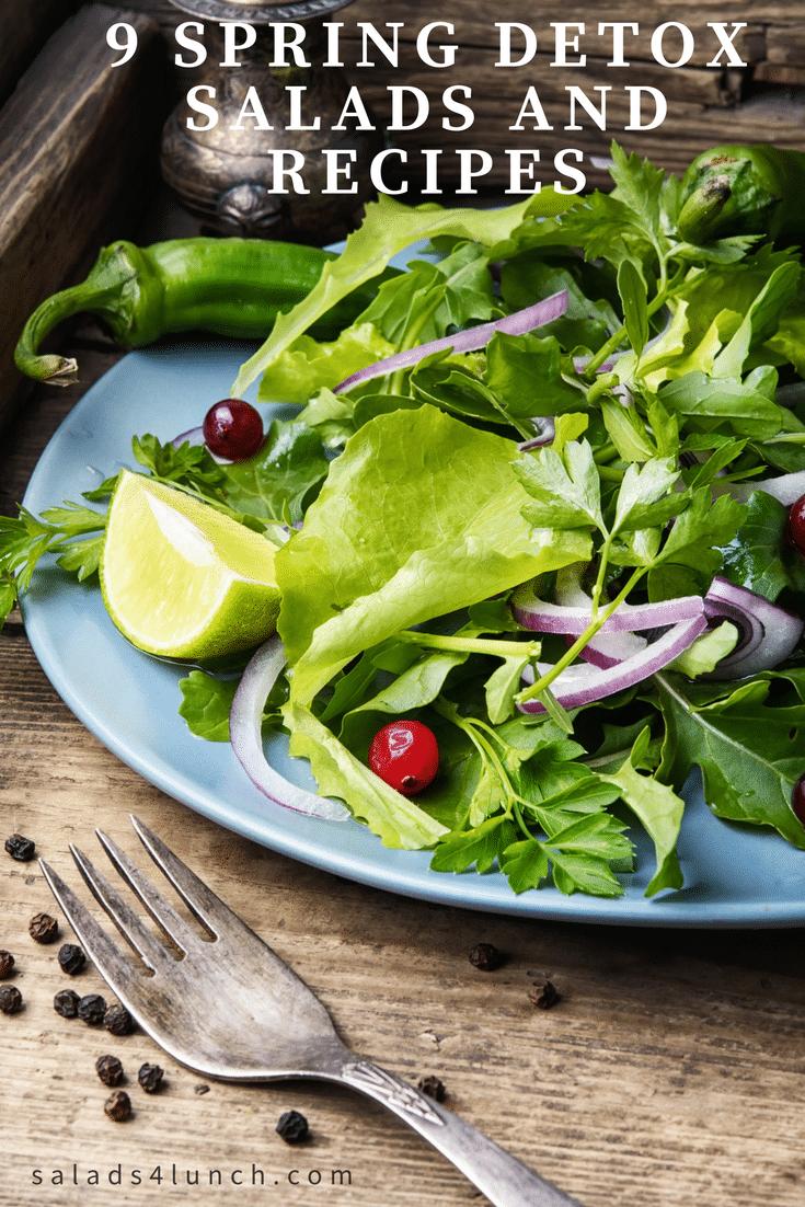 9 Spring Detox Salads and Recipes