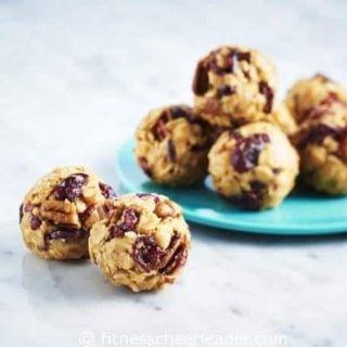 Fruit-n-nut Peanut Butter Energy Balls