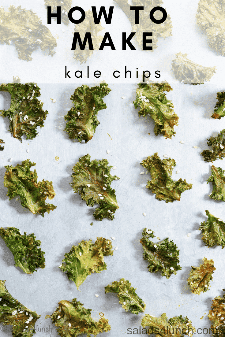 How To Make Baked Kale Chips 187 Salads For Lunch