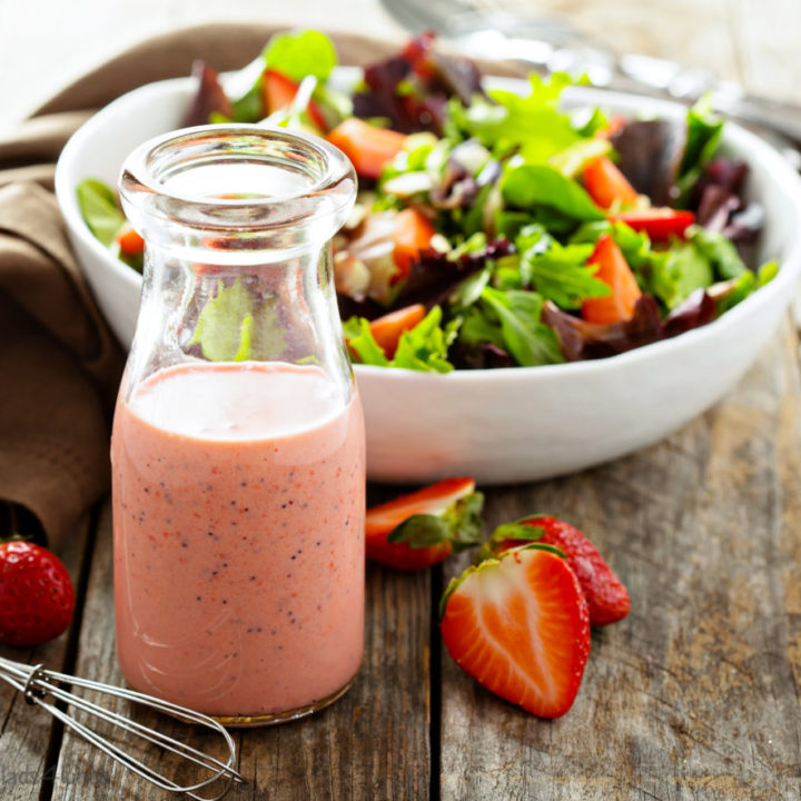 Mixed Berry Vinaigrette Salad Dressing