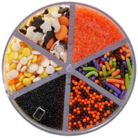 Halloween Shapes 6 Cell Sprinkle Mix, 7 Ounces by Wilton