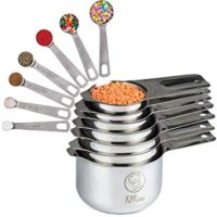My Favourite Stainless Steel Measuring Cups and Spoons Set