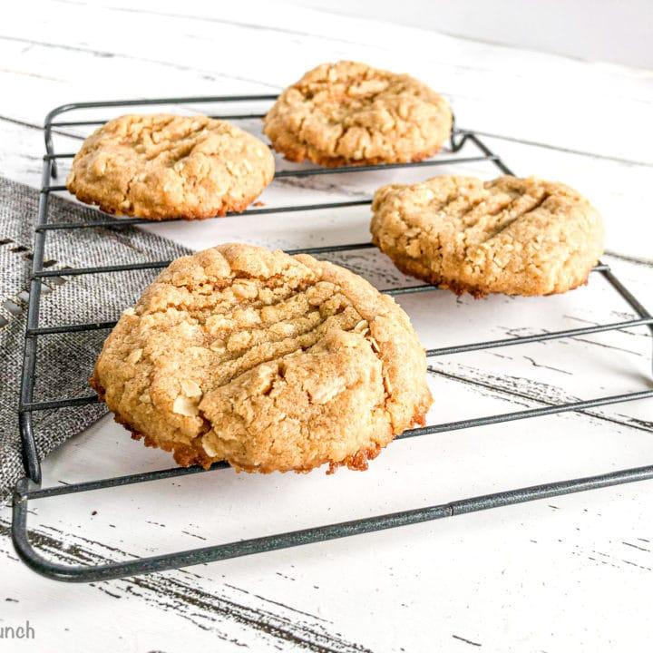 Best Oatmeal Peanut Butter Cookies